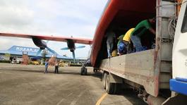 BROLL: MSF Action in the city of Guiuan and in Panay Island
