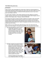 Tanzania: World Malaria Day photo story - Captions