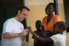 Arjan Hehenkamp visits South Sudan