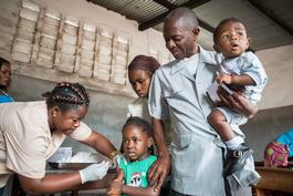 MSF Yellow Fever Vaccination in Kinshasa, DRC