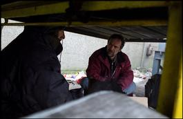 France, Calais, during 4 months, MSF consultations for illegal immigrants, Julien Leveque, February 2006.