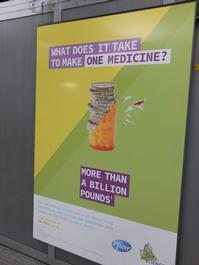 Pfizer posters direct action
