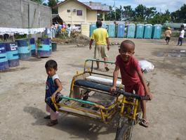 Philippines, Floods in the region of Mindanao Island, MSF, January 2012.