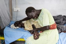 Deplorable Conditions for Refugees in Malakal - South Sudan Nov 2015
