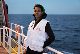MSF Staff on board of VOS Prudence