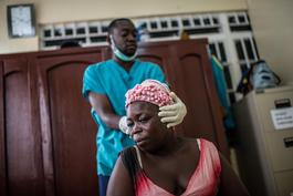MSF Ebola Survivor Clinic In Freetown, Sierra Leone