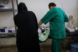 Medical care on the frontline - North Syria