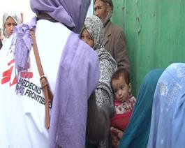 AFGHANISTAN : MOBILE MEDICAL CARE IN KABUL