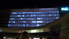 NotATarget Video Mapping - Geneva Hospital - GERMAN