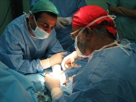 1st October 2013, MSF now operating in a second hospital in Gaza, Al-Shifa hospital,