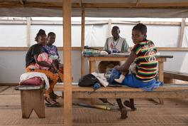 MSF HIV Programe in Bangui, Central African Republic