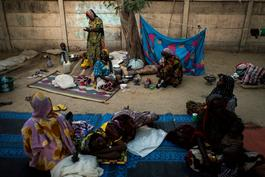 Lake Chad - people in dire need of support