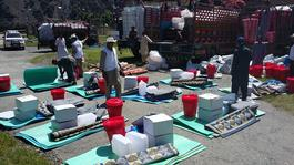 MSF provide essentials items after flood in Pakistan