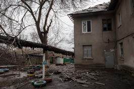 Medical care in Debaltseve