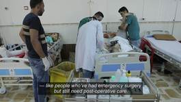 Iraq – Secondary surgery and post-operative care (ENG)