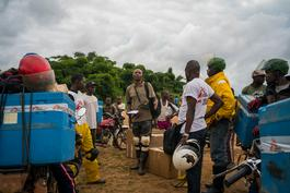 MSF Measles Vaccination in DRC