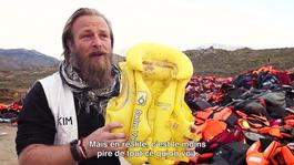 Lesbos lifejackets: Message to the EU | SOCIAL MEDIA SMALL LIFEJACKET PILL FRENCH